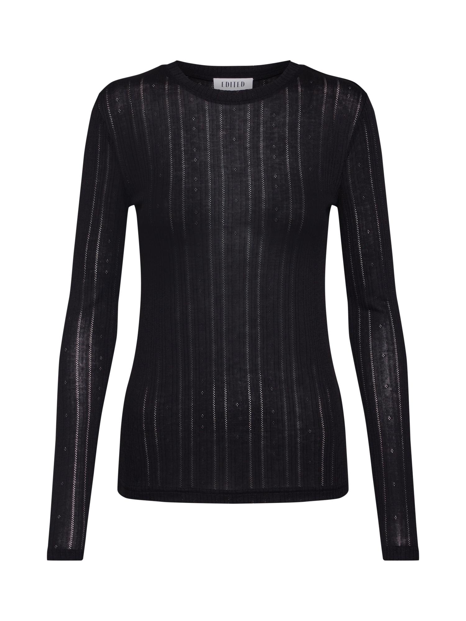 EDITED Marškinėliai 'Katja' juoda