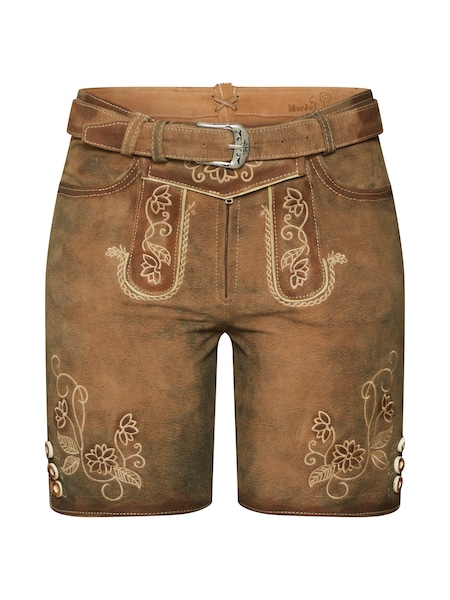 Hosen - Trachtenhose › MARJO › braun  - Onlineshop ABOUT YOU