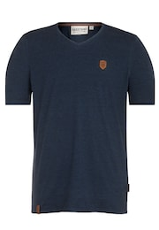 Naketano Herren T-Shirt Thank you Patron blau   04060606201948