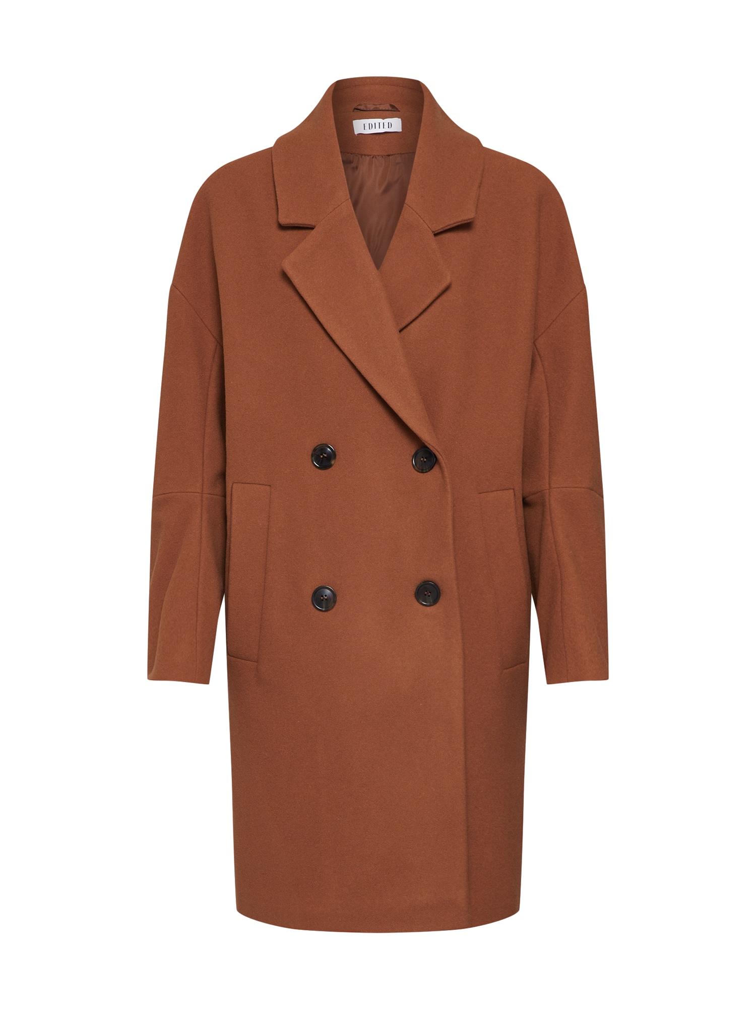 EDITED Rudeninis-žieminis paltas 'Hanne' ruda