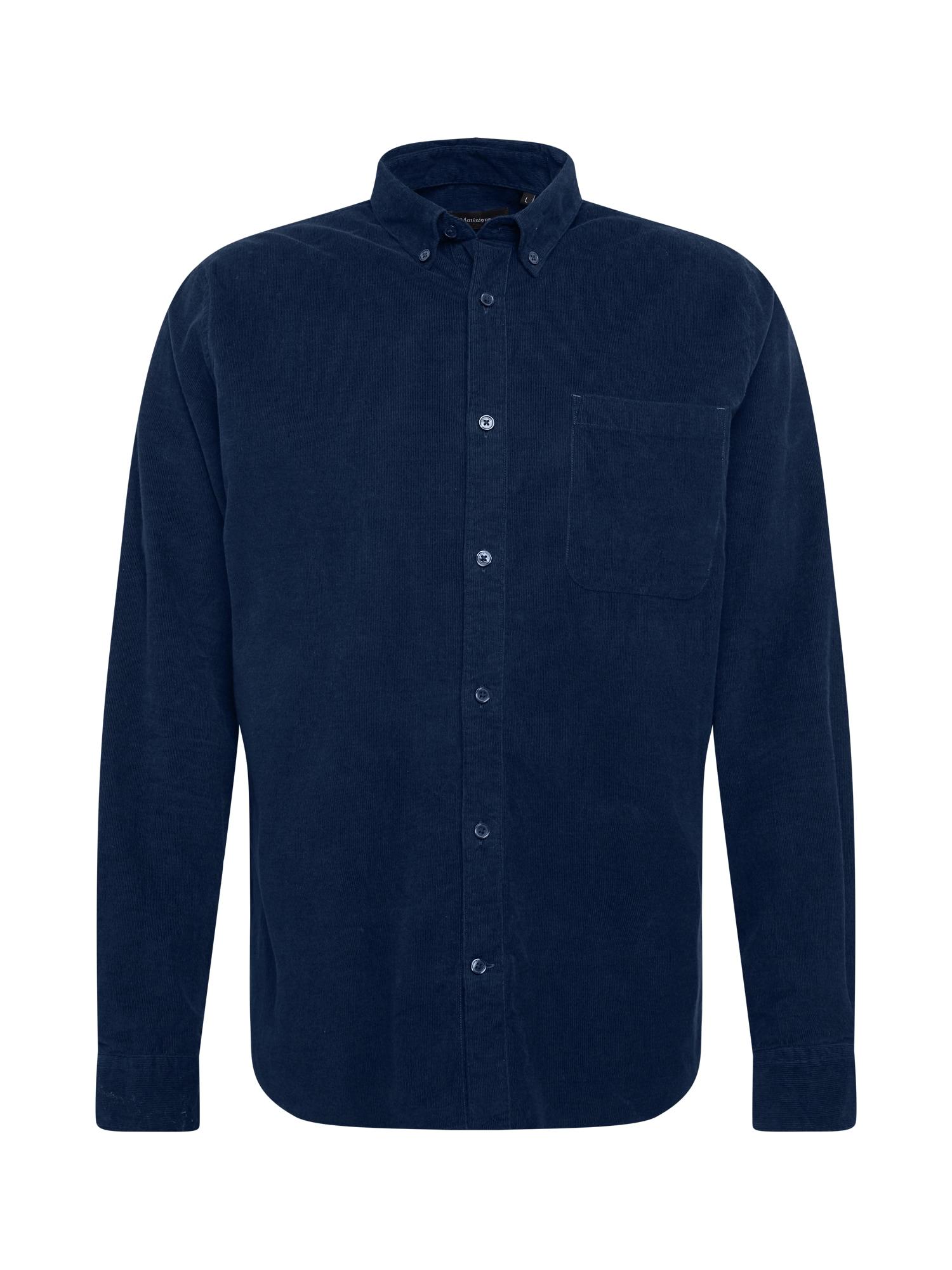 Matinique Marškiniai tamsiai mėlyna jūros spalva