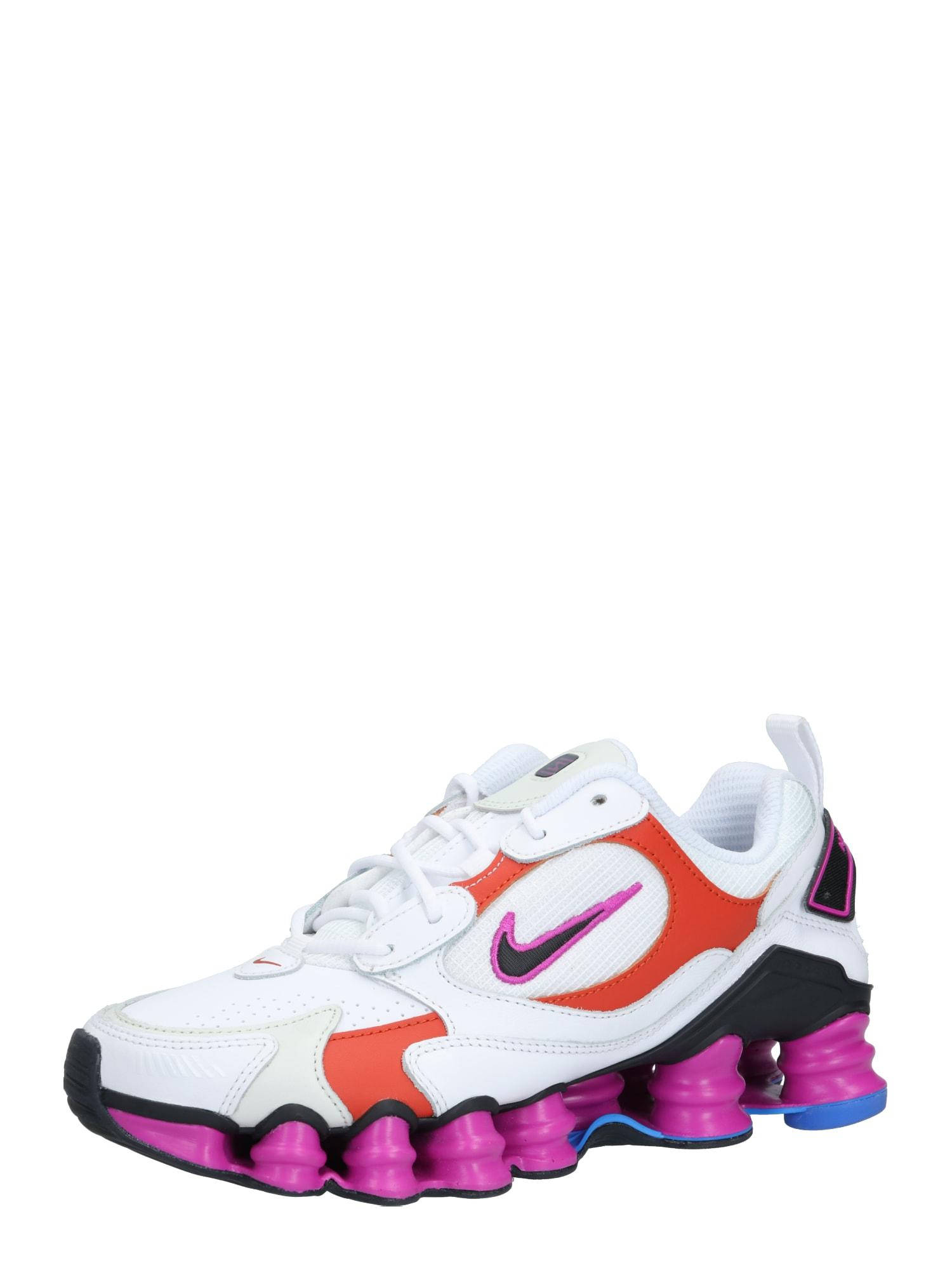 Nike Sportswear Sportbačiai be auliuko 'Nike Shox TL Nova' rožinė / balta / purpurinė