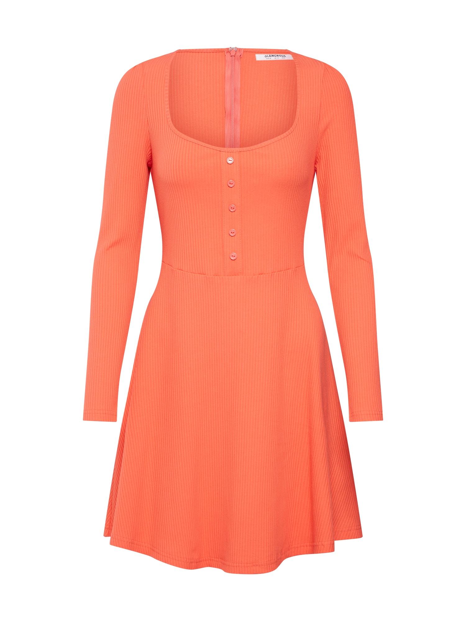 Šaty HP0552 orange GLAMOROUS