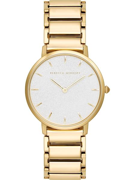 Uhren für Frauen - Rebecca Minkoff Uhr 'Major 2200259' gold perlweiß  - Onlineshop ABOUT YOU