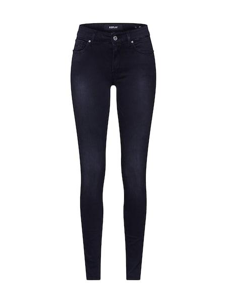 Hosen für Frauen - Jeans 'NEW LUZ' › Replay › schwarz  - Onlineshop ABOUT YOU