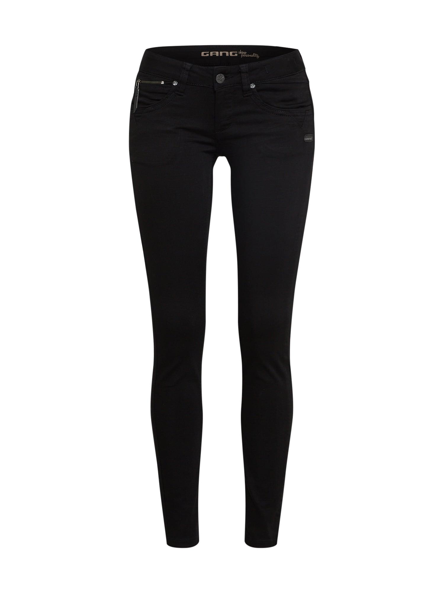 Gang Džinsai juodo džinso spalva