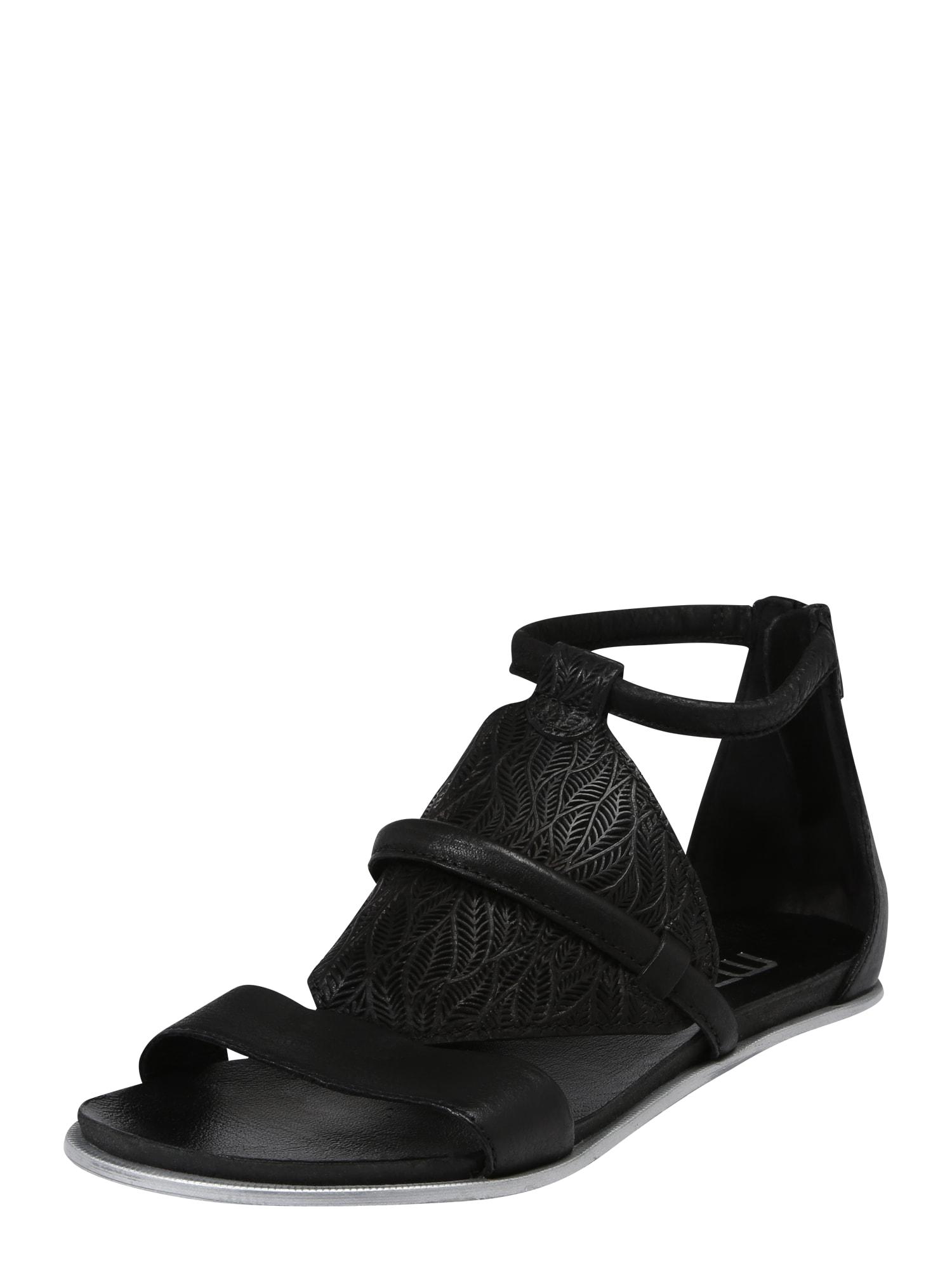 Sandály KATANA černá MJUS
