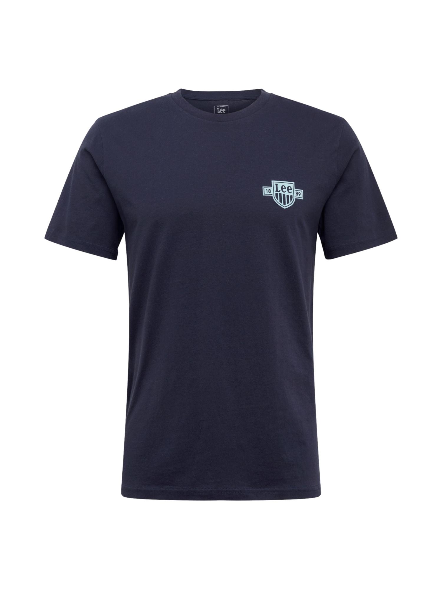 Lee Marškinėliai balta / tamsiai mėlyna