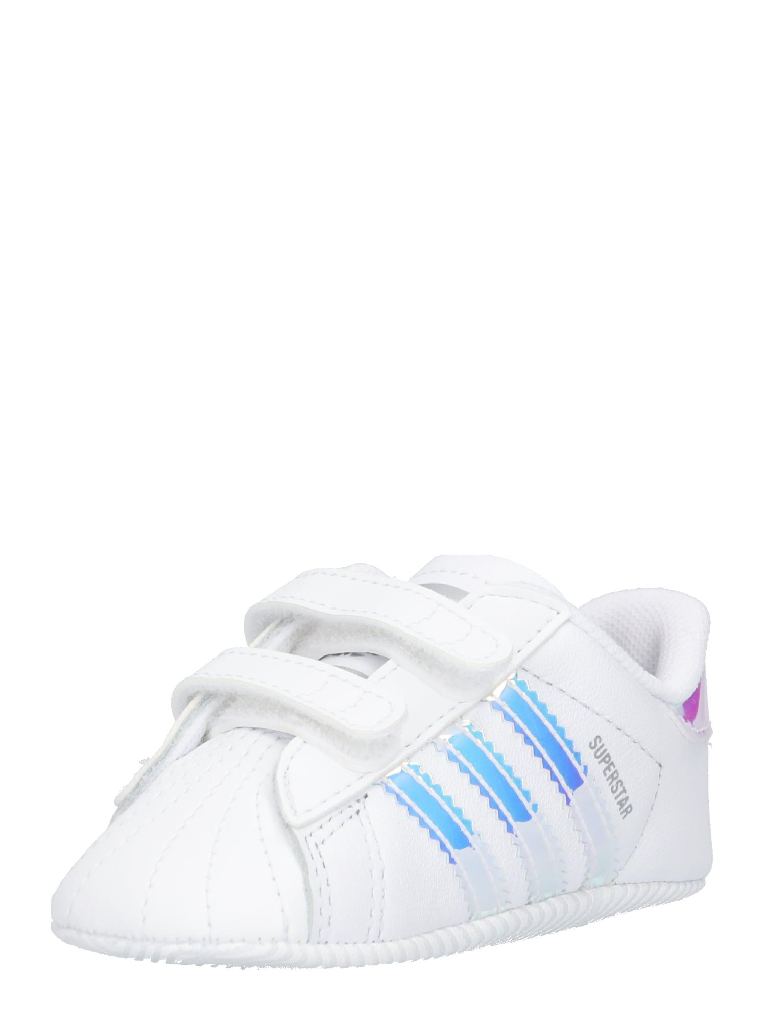 ADIDAS ORIGINALS Pirmieji vaiko vaikščiojimo bateliai balta