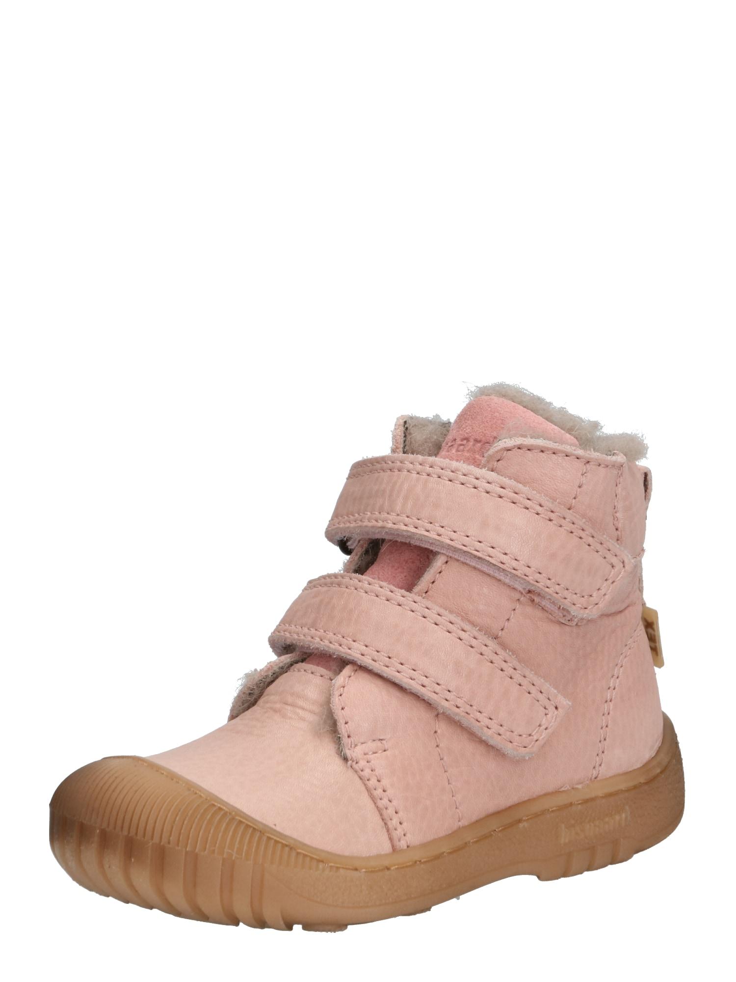 BISGAARD Auliniai batai su kulniuku 'TEX boot' odos