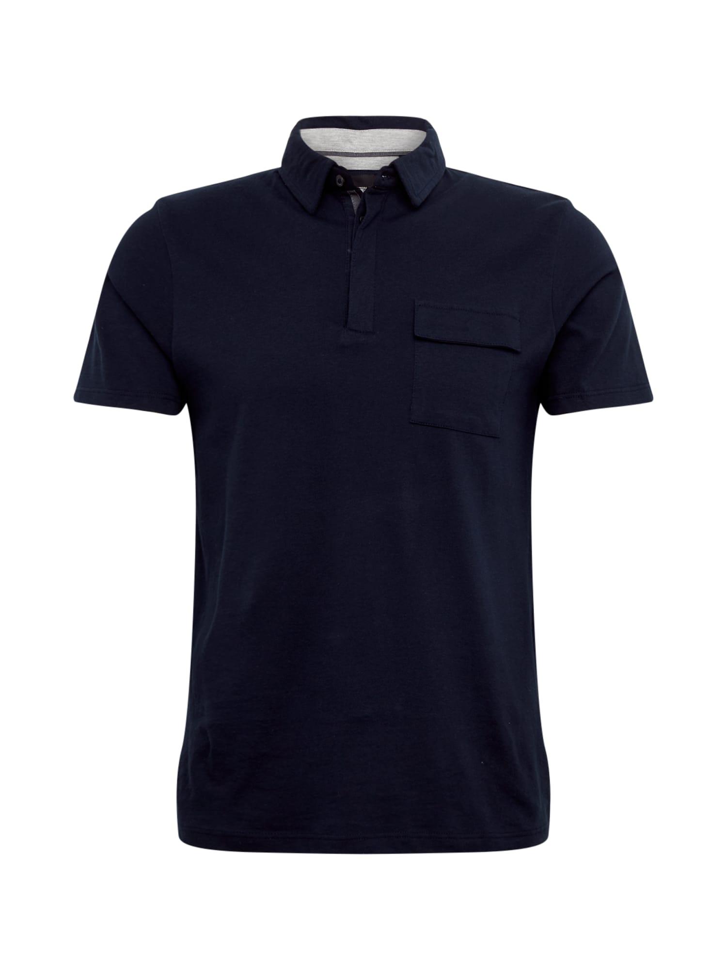 BURTON MENSWEAR LONDON Marškinėliai tamsiai mėlyna