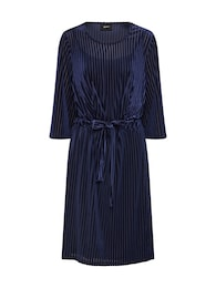 OBJECT Damen Kleid OBJBELIA 3 4 DRESS blau | 05713782275133