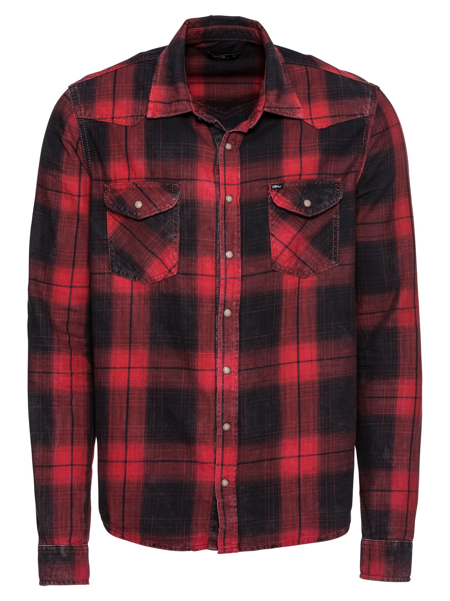 Košile Rohan červená černá LTB