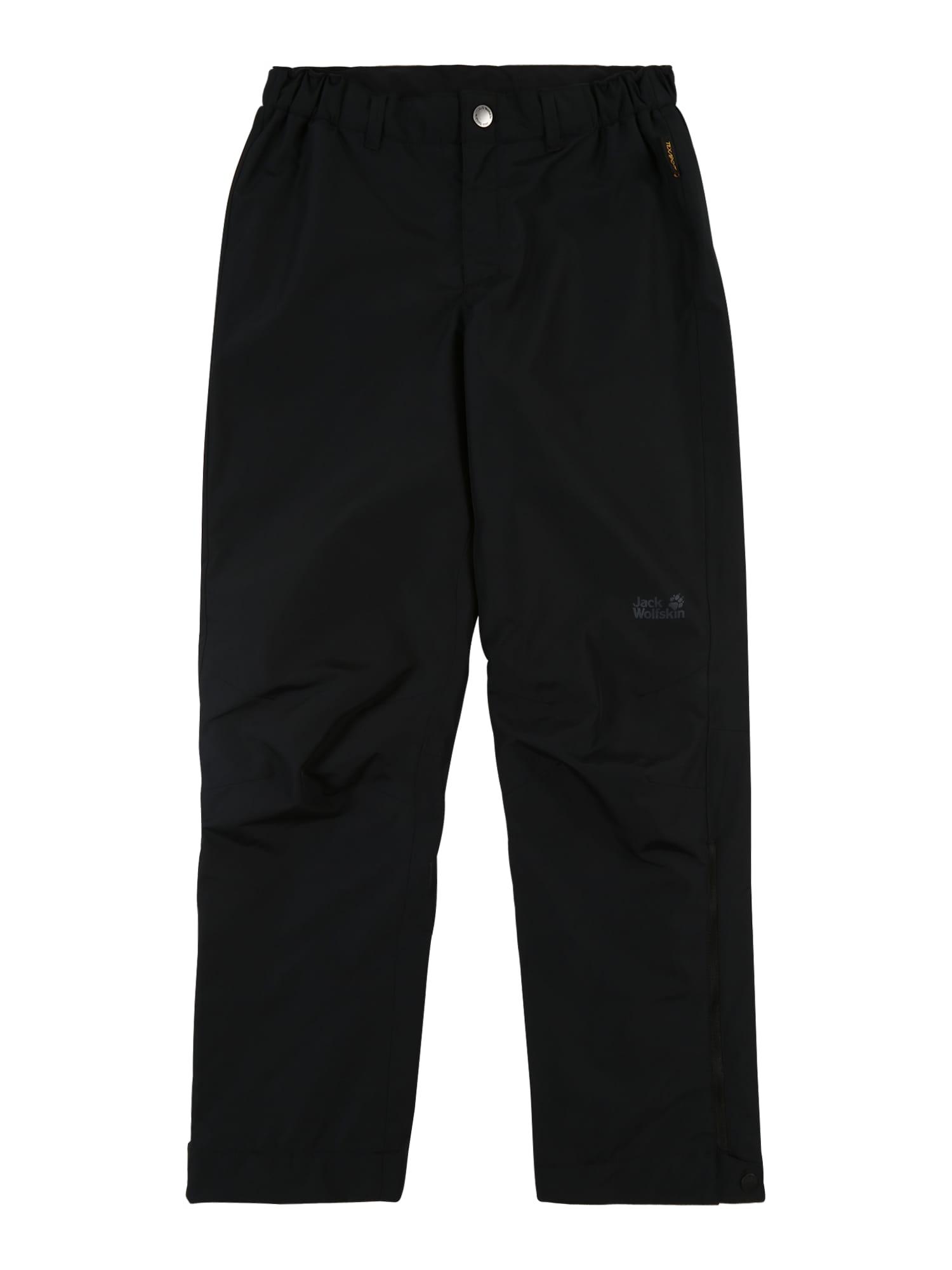 JACK WOLFSKIN Outodoor kalhoty 'Snowy Days'  černá