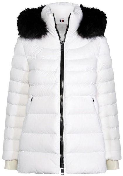 Jacken - Outdoorjacke 'Pamela' › Tommy Hilfiger › weiß schwarz  - Onlineshop ABOUT YOU