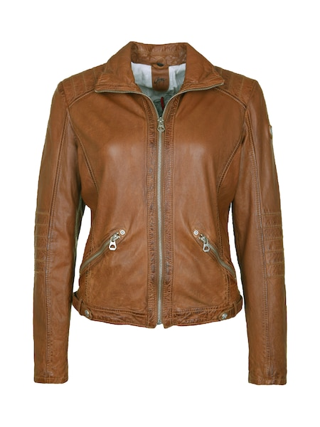 Jacken für Frauen - Gipsy Lederjacke 'Jennet LADAV' cognac  - Onlineshop ABOUT YOU