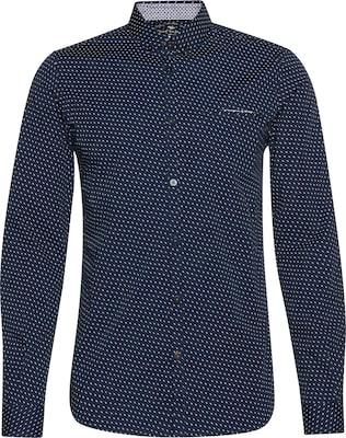TOM TAILOR Hemd 'Slim printed stretch shirt'