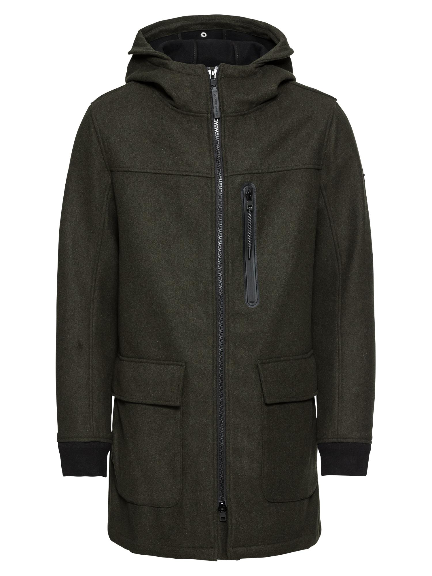 TOM TAILOR Rudeninis-žieminis paltas žalia