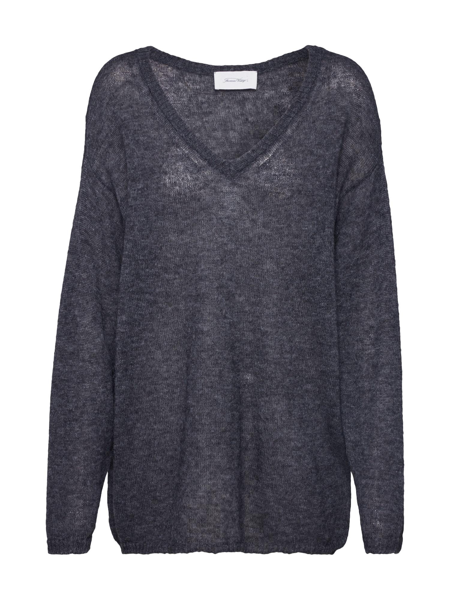 AMERICAN VINTAGE Megztinis tamsiai pilka