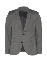 Herren SELECTED HOMME Sakko SHDONE-TAXCASH GREY grau | 05712831971118