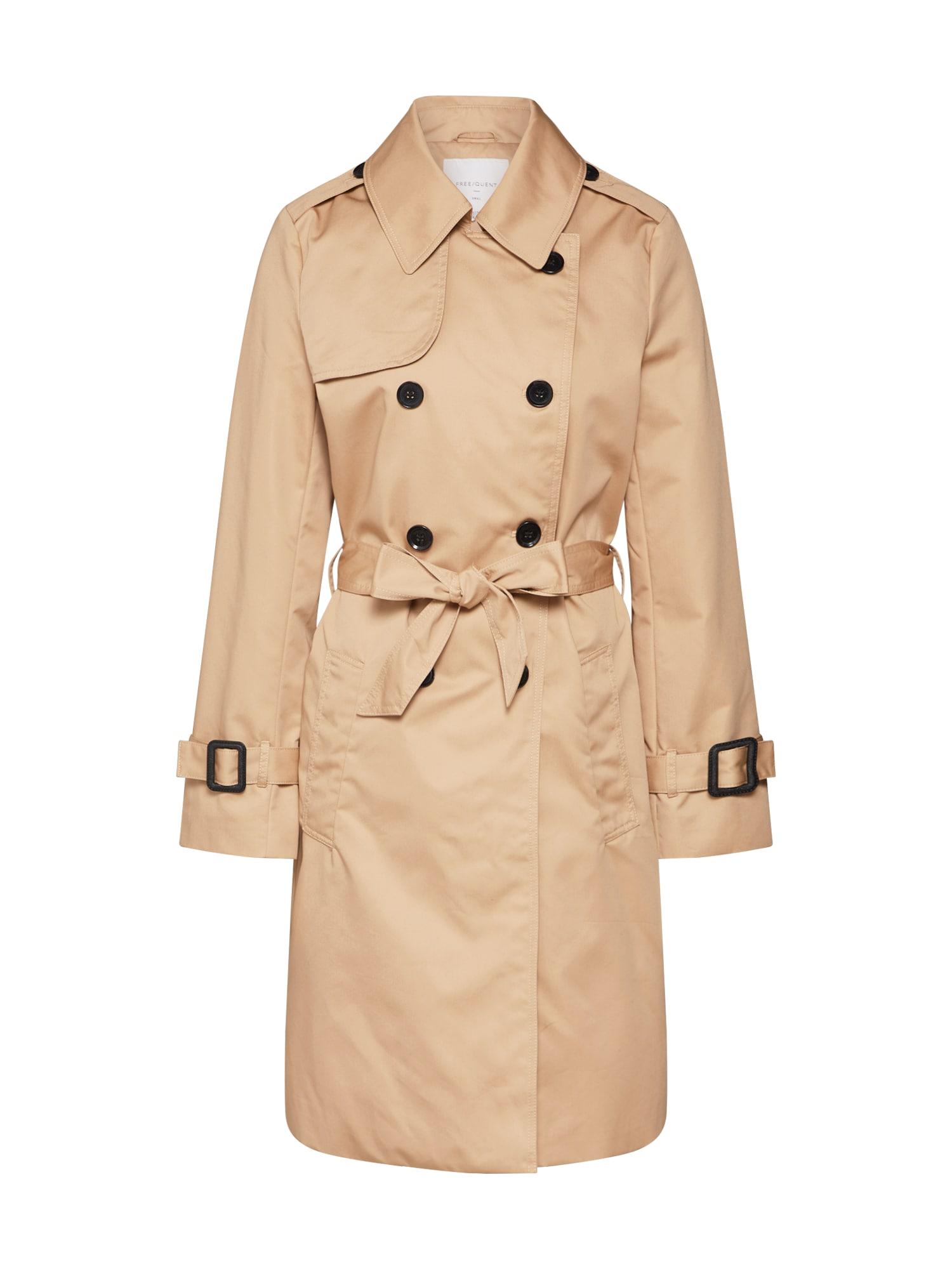 Freequent Rudeninis-žieminis paltas 'FQESSI-JA' smėlio / smėlio