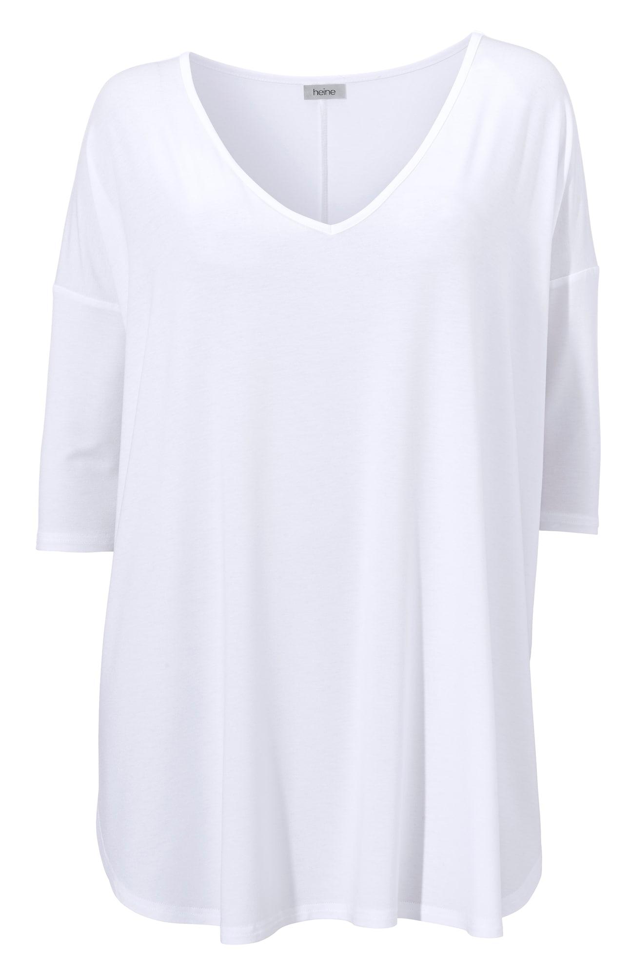 heine Oversized tričko  bílá