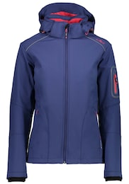CMP Damen Zip Hood Softshell Outdoorjacke  | 08055199180851