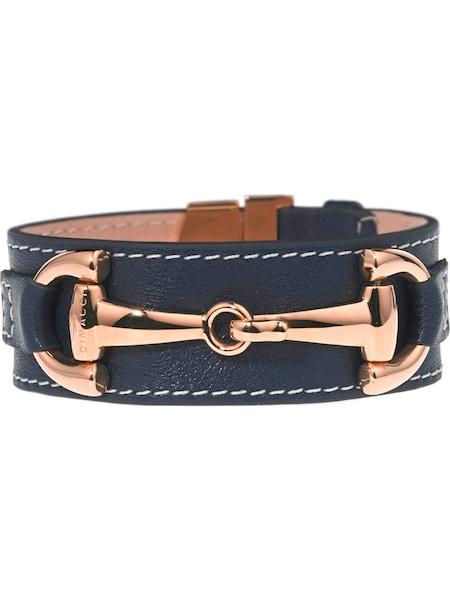 Armbaender für Frauen - Dimacci Armband 'Orsini' dunkelblau bronze weiß  - Onlineshop ABOUT YOU