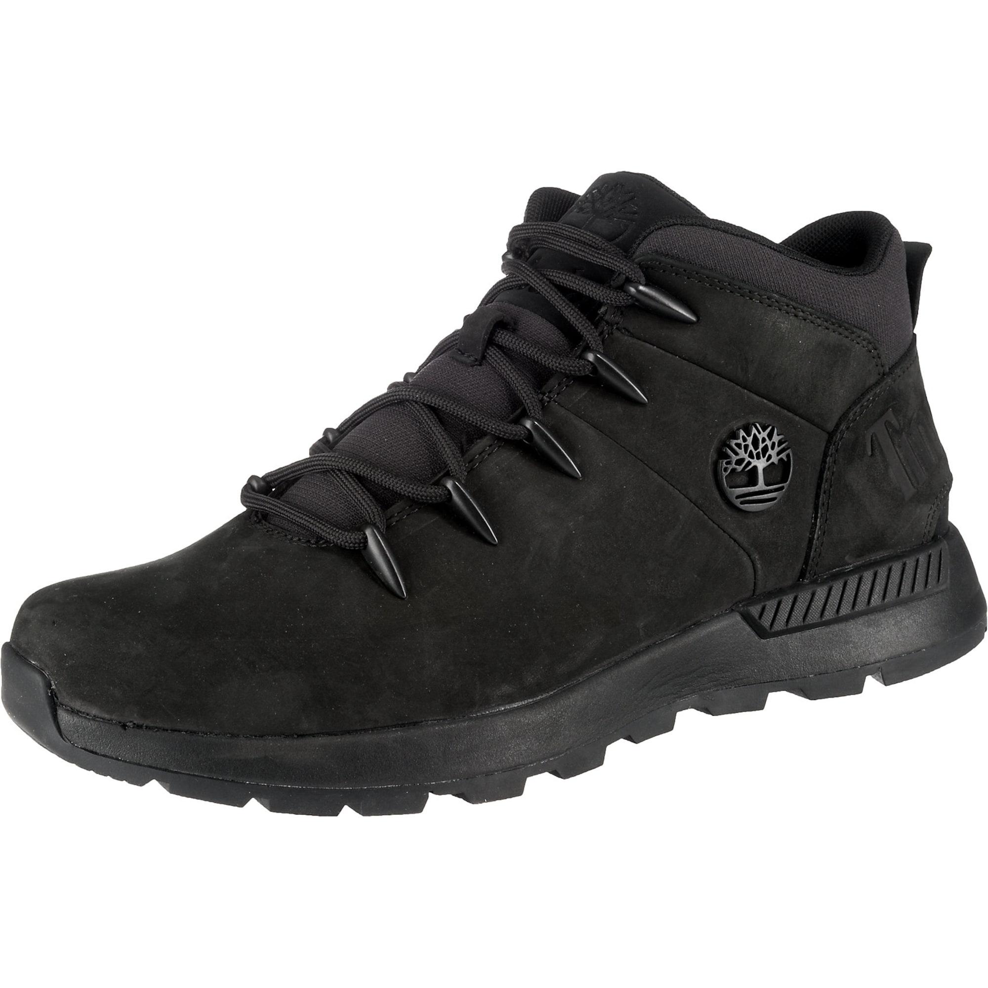 TIMBERLAND Auliniai batai su raišteliais juoda