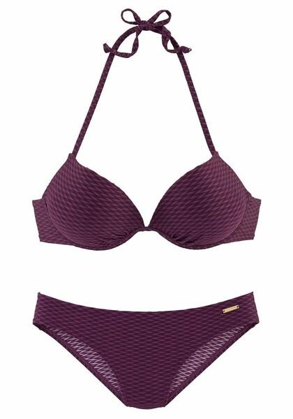 Bademode - Push up Bikini › Bruno Banani › bordeaux  - Onlineshop ABOUT YOU