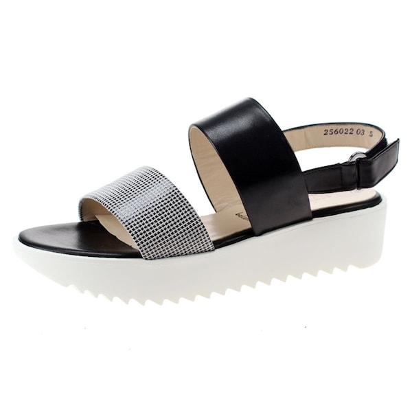 Sandalen für Frauen - Sandalen › Peter Kaiser › schwarz weiß  - Onlineshop ABOUT YOU