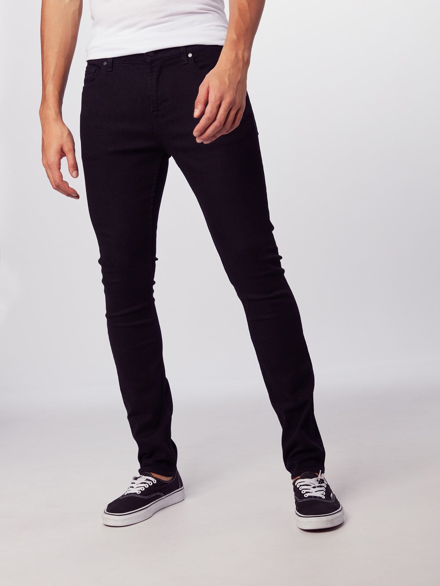 7 for all mankind Jeans 'RONNIE LUXE PERFORMANCE'  svart