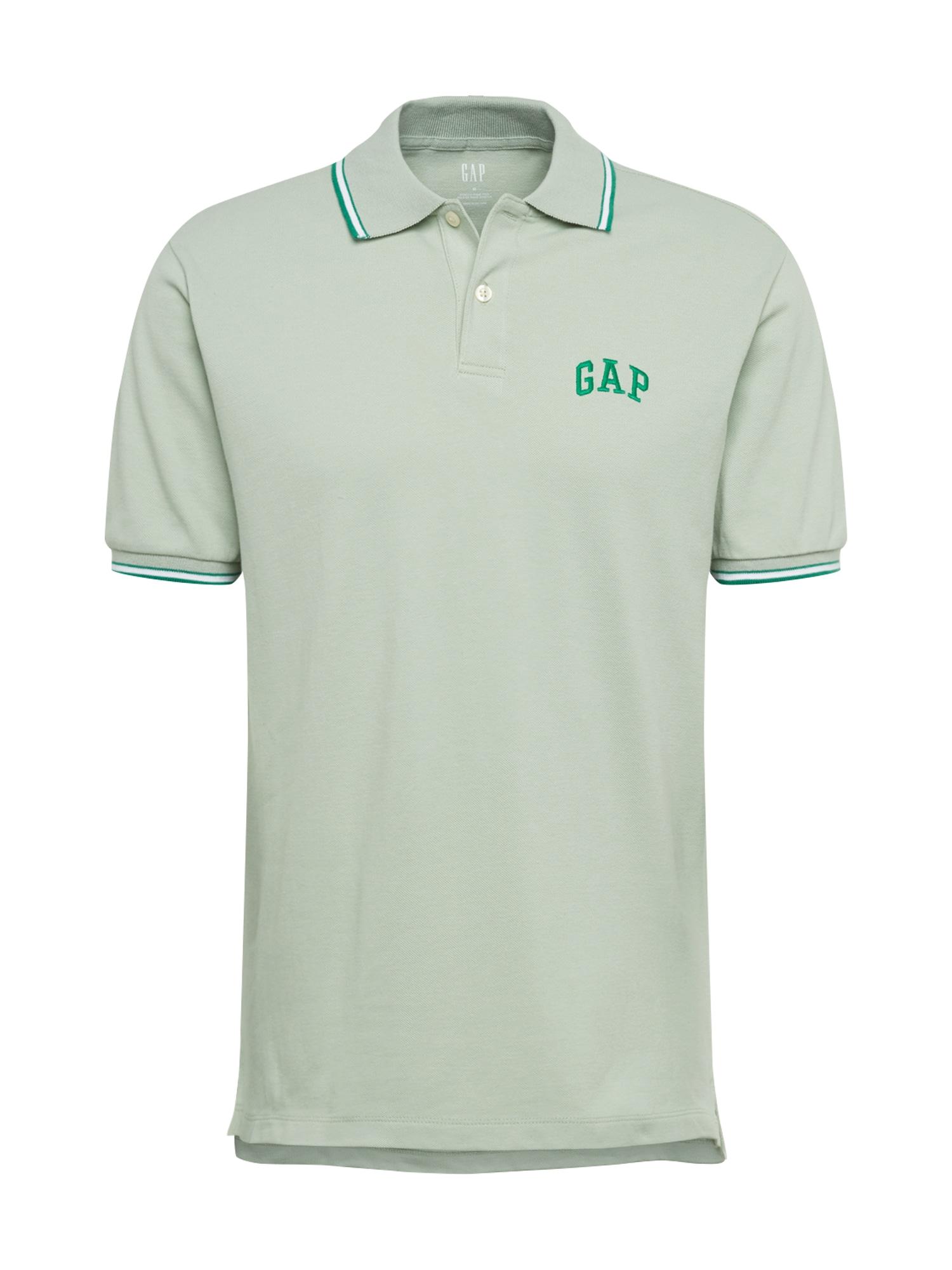 GAP Marškinėliai 'FRANCH' mėtų spalva