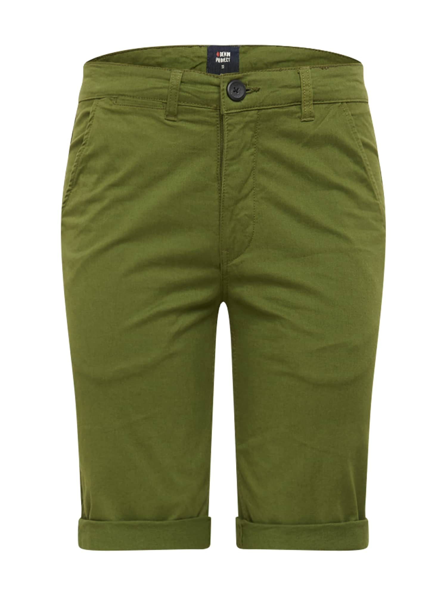 Denim Project Kelnės 'KADIR' alyvuogių spalva