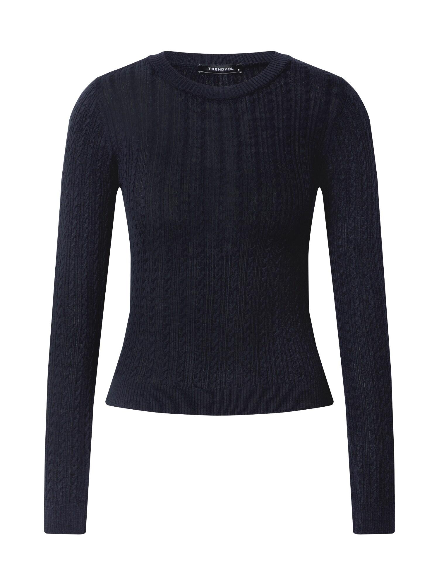 Trendyol Megztinis tamsiai mėlyna