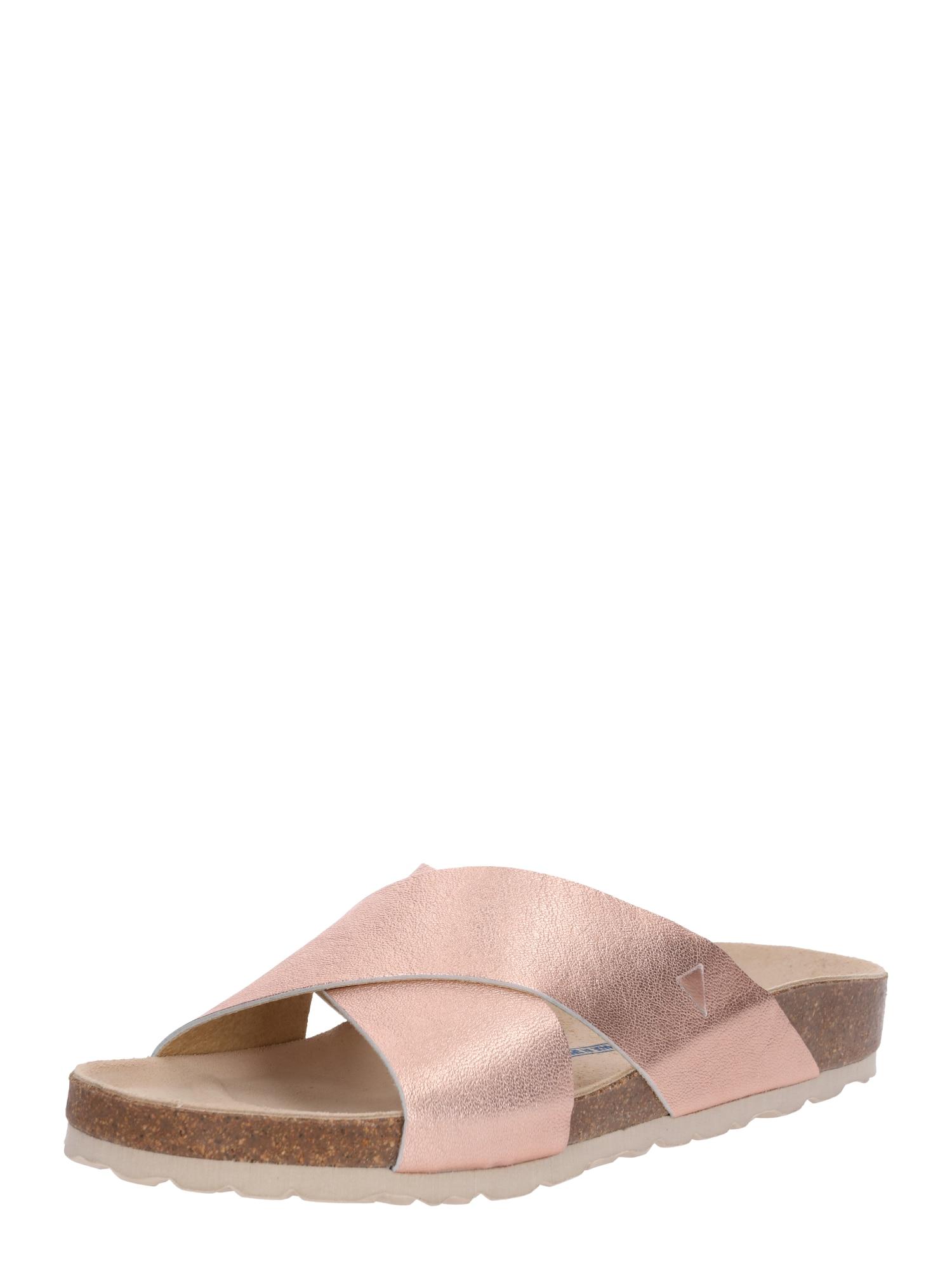 Pantofle SALINAS SABRINA růžově zlatá VERBENAS