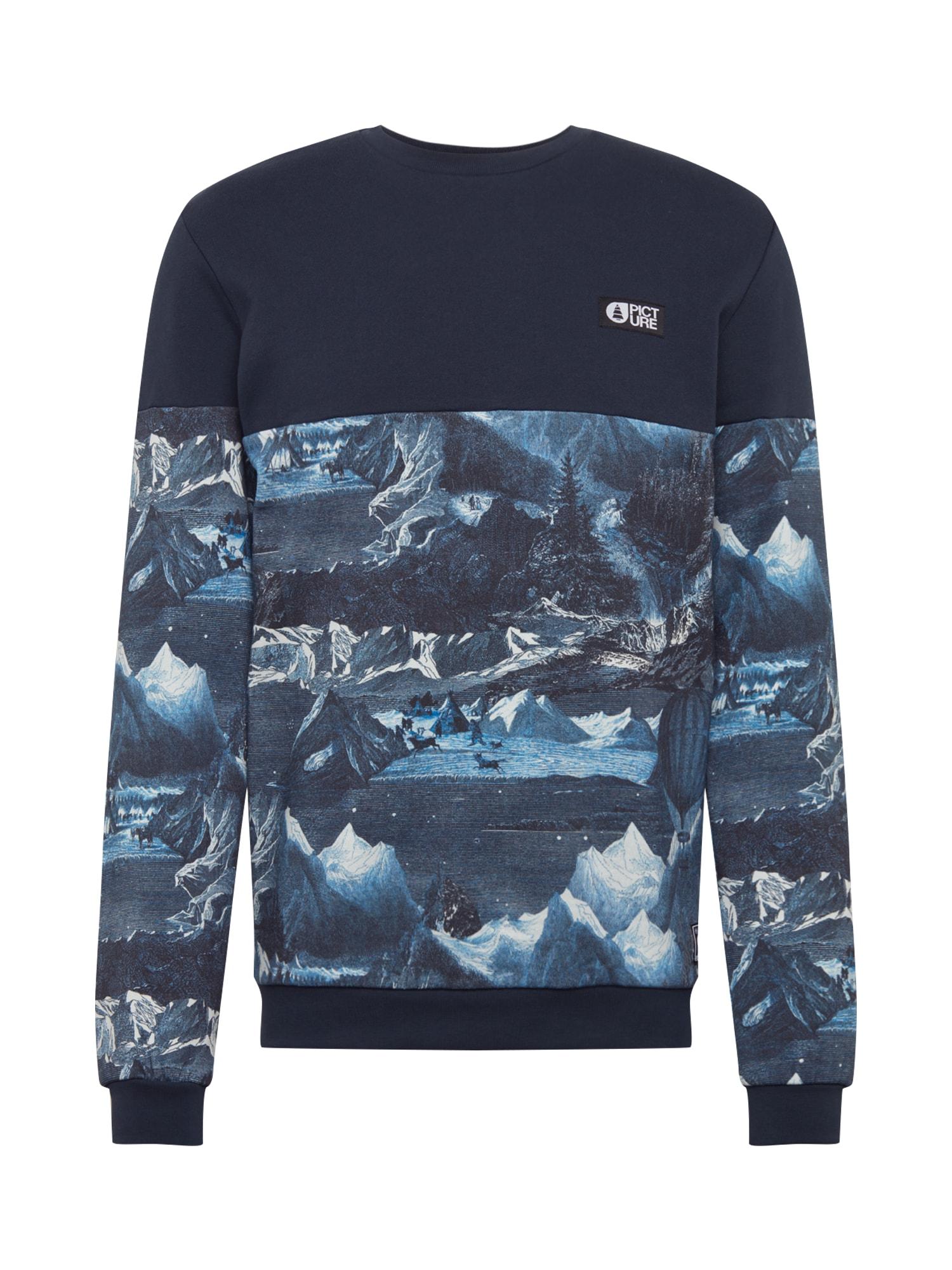 Picture Organic Clothing Sportinio tipo megztinis tamsiai mėlyna / mišrios spalvos