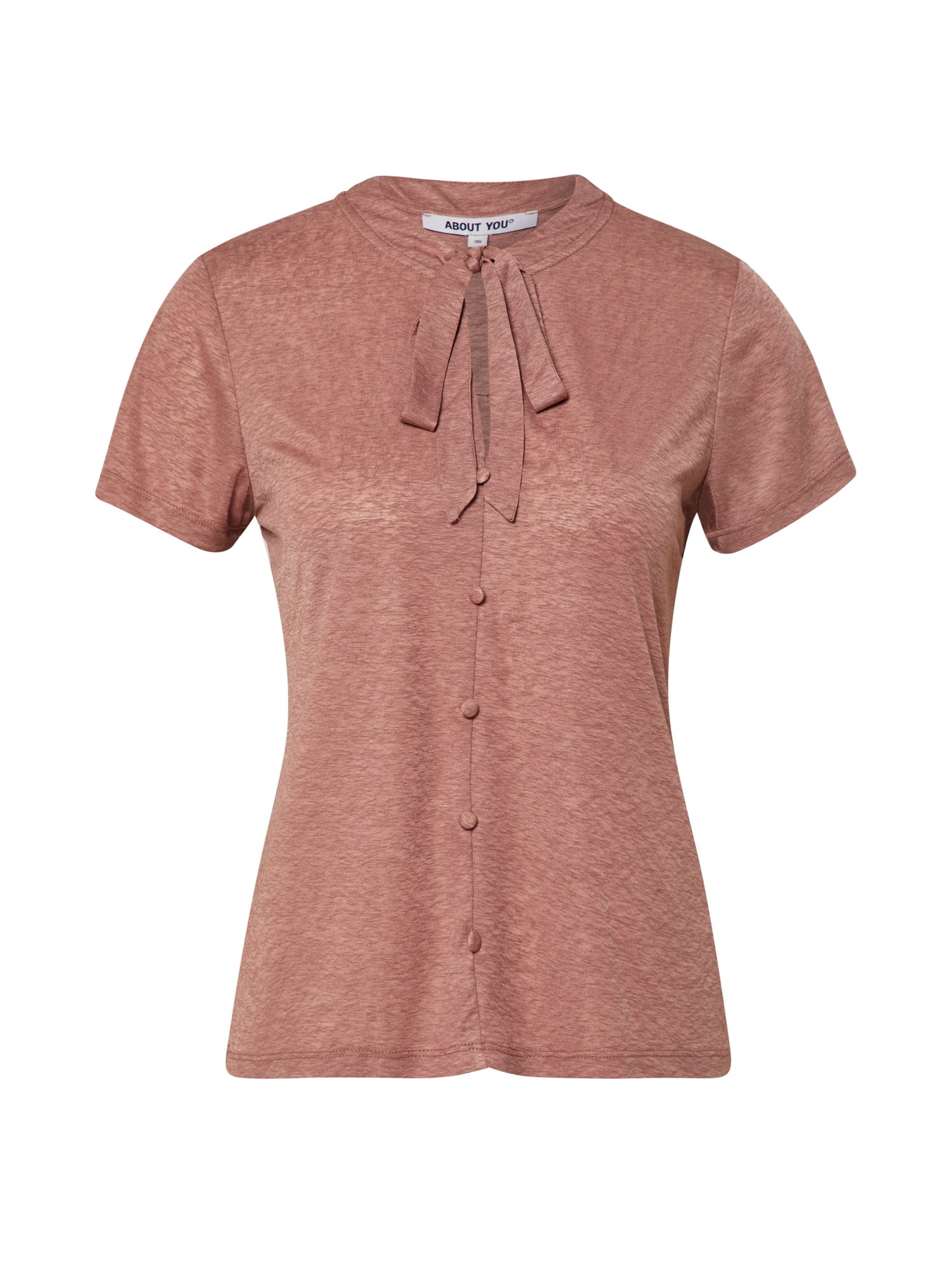 ABOUT YOU Marškinėliai 'Luana' rožių spalva