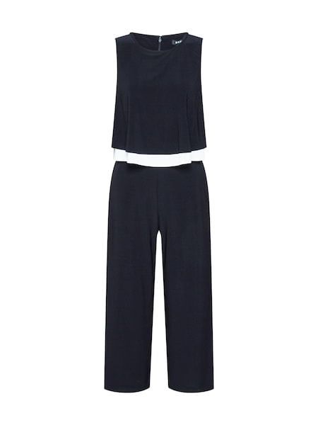 Hosen - Overall 'S L Popover Jumpsuit' › DKNY › schwarz weiß  - Onlineshop ABOUT YOU
