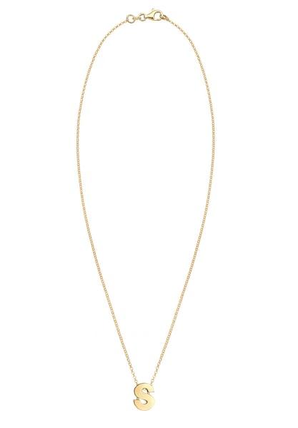 Ketten für Frauen - ELLI Halskette 'Buchstabe' gold  - Onlineshop ABOUT YOU