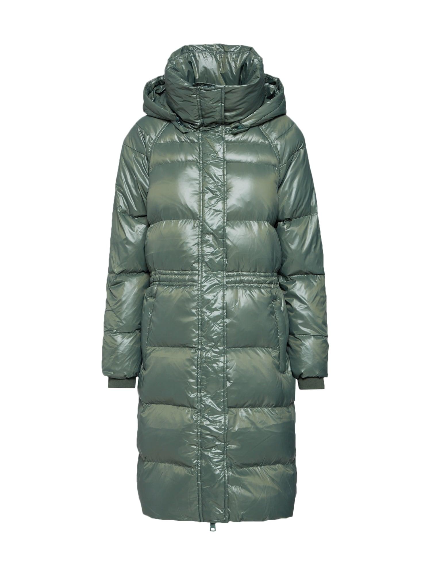 GAP Žieminis paltas alyvuogių spalva