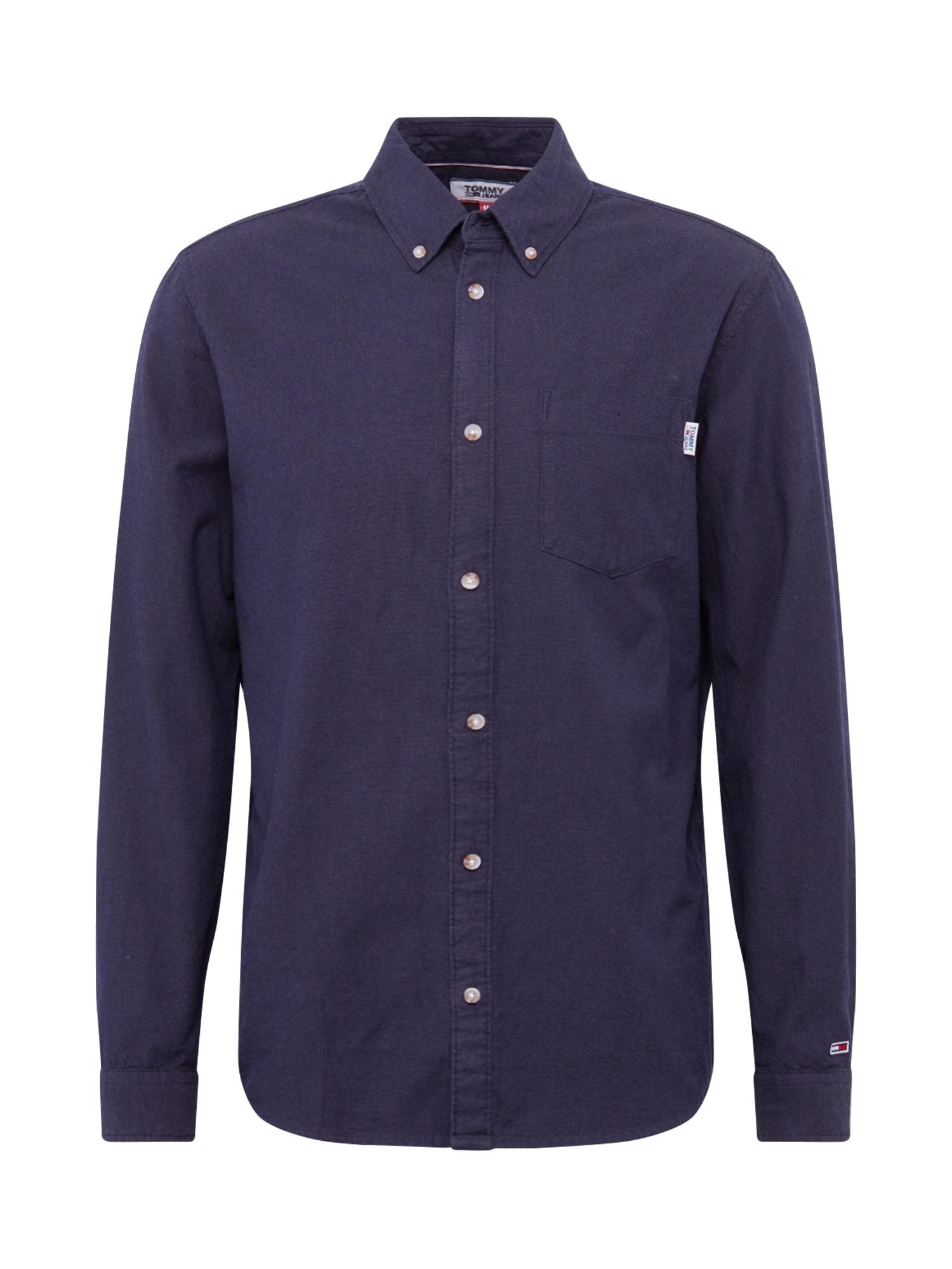 Tommy Jeans Košile 'OXFORD'  tmavě modrá