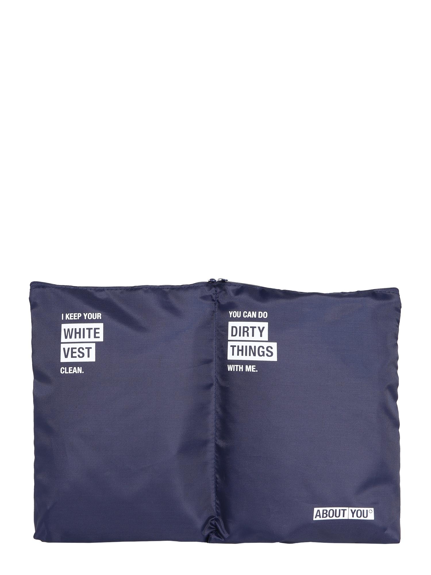 ABOUT YOU Apsauginis drabužių maišas nakties mėlyna
