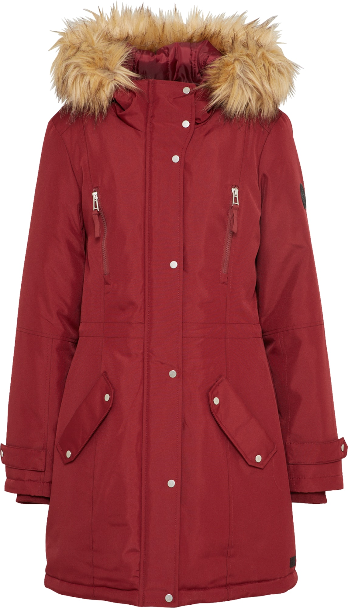 vero moda winterparka 39 vmtrack expedition 39 in rot about you. Black Bedroom Furniture Sets. Home Design Ideas