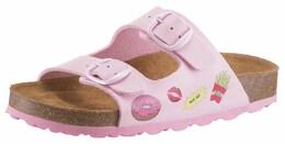 LICO Kinder,Mädchen Pantolette Bioline Donut rosa | 04019335542495