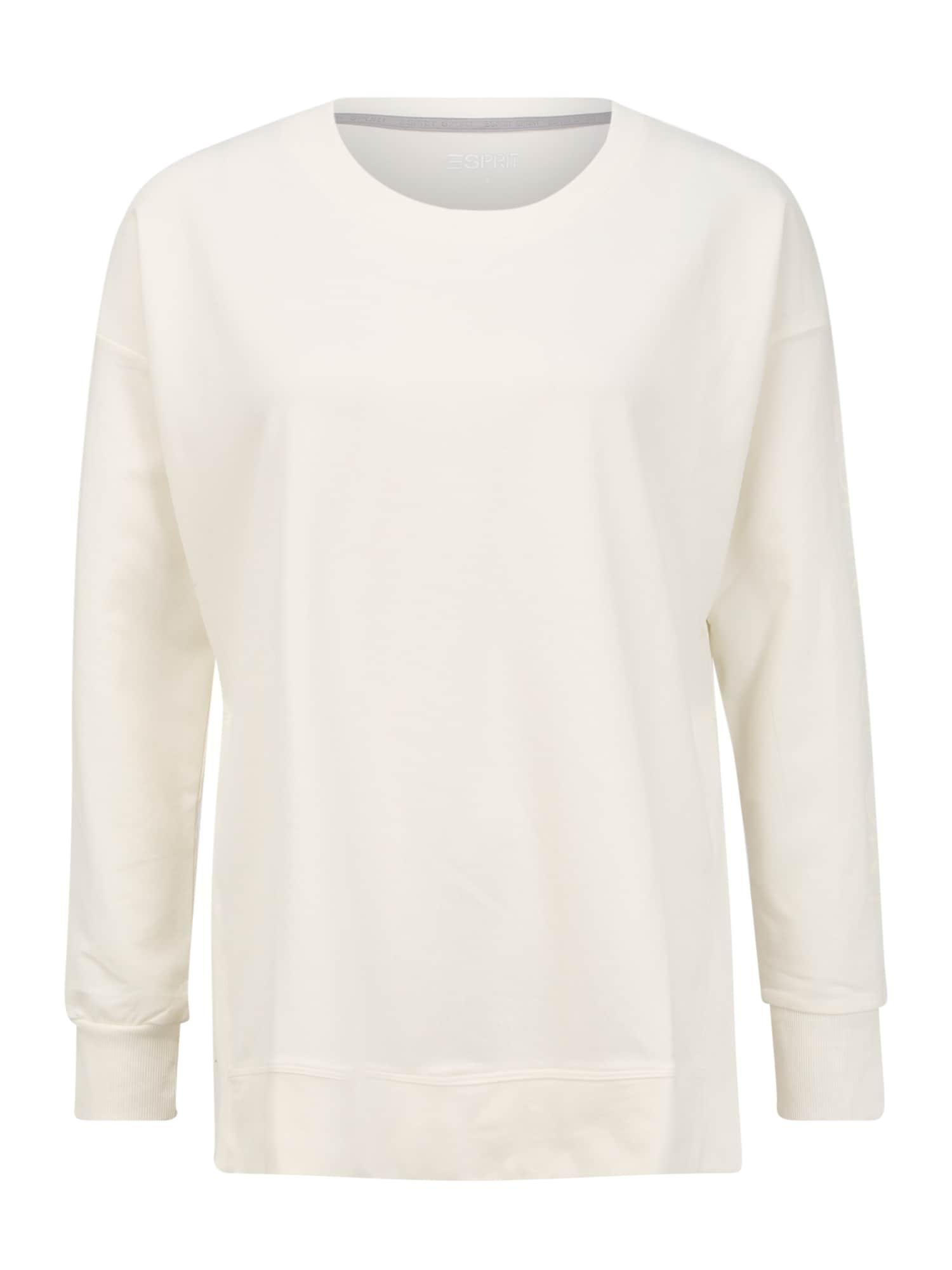 ESPRIT SPORTS Sportinio tipo megztinis balkšva