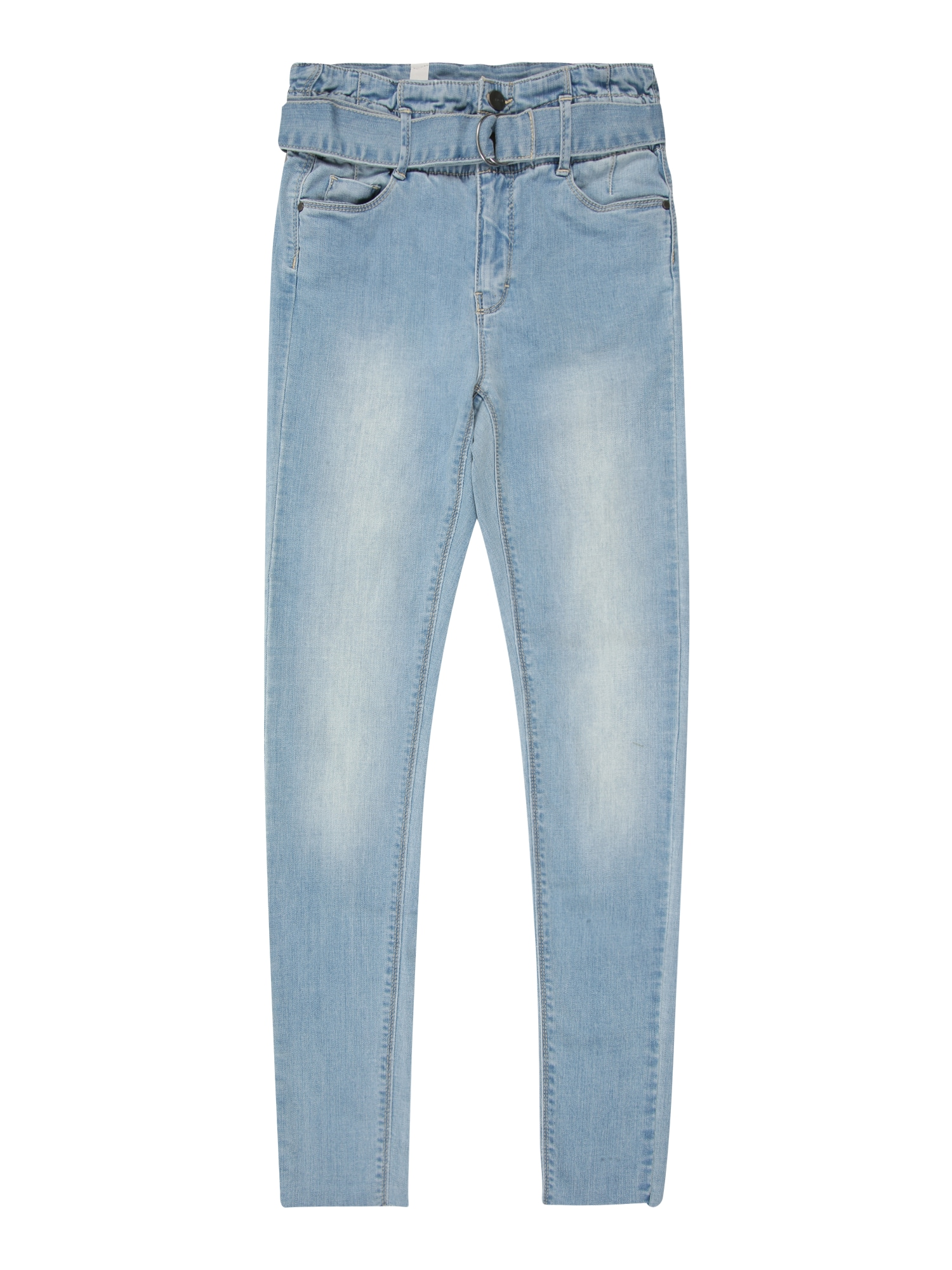 NAME IT Džínsy 'NLFPIL DNMBATULLA 1333 HW ANCLE PANT'  modrá denim
