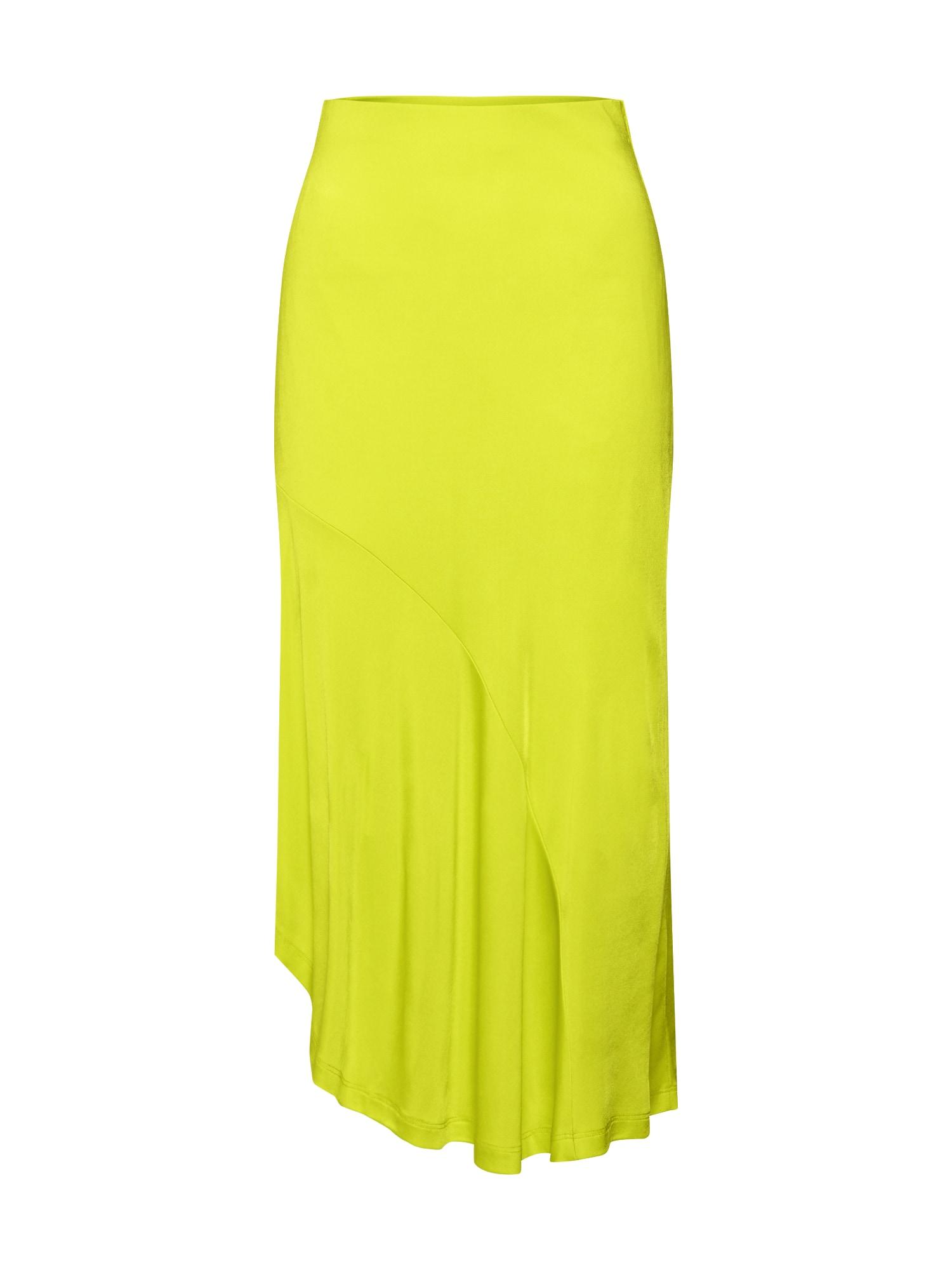 EDITED Sijonas 'Aisling' neoninė geltona