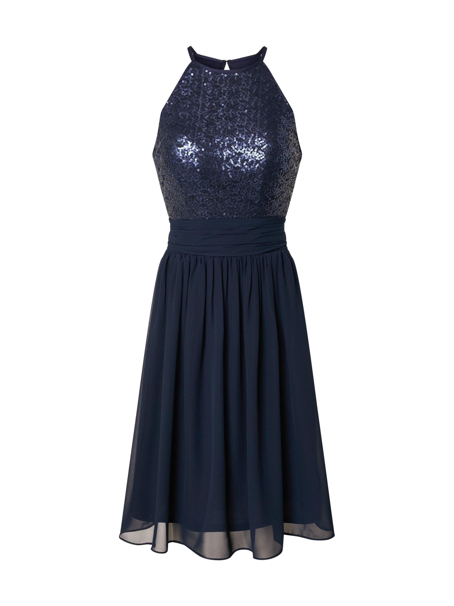 STAR NIGHT Kokteilinė suknelė tamsiai mėlyna