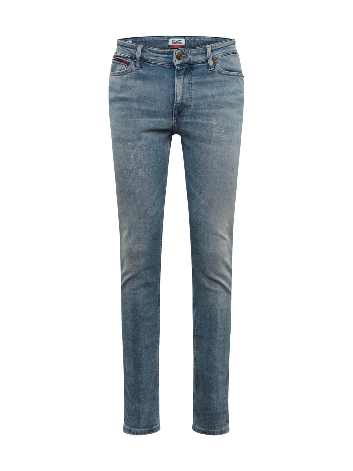 Tommy Jeans Džinsai 'SIMON SKINNY WSTRM' tamsiai (džinso) mėlyna